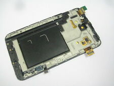 Full LCD Display Touch screen frame For Samsung Galaxy Note N7000 i9220 Black