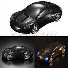 New 2.4GHz Car Shape 1600DPI Wireless Optical Mouse/Mice +2.0 USB Receiver BlACK