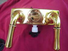 LOT of 5 RV camper SHOWER FAUCET polished brass 4202PB
