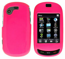 For Samsung Gravity T T669 Hard Protector Case Snap on Phone Cover Shocking Pink