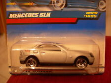 Hot Wheels Mercedes Slk #1095 Silver