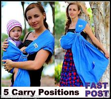 WALKABOUT baby sling ring carrier pouch Newborn to Toddler 100% cotton NEW