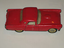 Red Majorette Thunderbird 1956 Scale 1/32 Vintage Auto