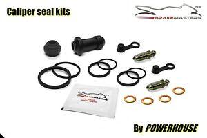 Honda GL1800 B F6B Bagger Goldwing rear brake caliper seal rebuild kit set 2013