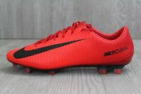 32 New Nike Mercurial Veloce III FG Mens Red Soccer Cleats 847756-616 SZ 6-10.5
