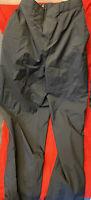 FootJoy FJ DryJoys Womens Adjustable Waist Rain Golf Pants Sz L Large Black