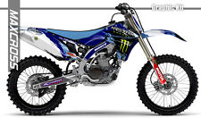YAMAHA YZ450F 2010 2011 2012 2013 MAXCROSS GRAPHICS KIT DECALS STICKERS A6 KIT