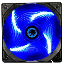 GAME Max Sirocco 4 x LED BLU 120 mm Ventola PC 12cm Ventola Case Alte Prestazioni