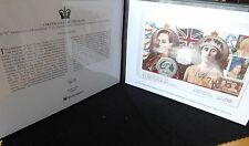 2007 SILVER PROOF JERSEY £5 COIN PNC + COA 70th ANNIVERSARY KING GEORGE VI 1/450