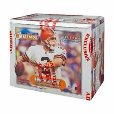 2000 Fleer Impact Football Factory Hobby Box.