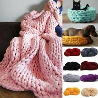 250g Thick Bulky Wool Yarn Soft Chunky Hand Knitting Hat Scarf Blanket Knit