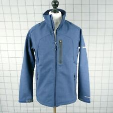 Columbia Omni Jacket Mens Size M Blue Waterproof with Pockets Lined