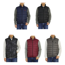 Polo Ralph Lauren Packable Down Puffer Vest w/pony -- 5 colors --
