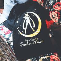 Anime Sailor Moon Tsukino Usagi T-Shirt Short Sleeve Girl Casual Loose Top Women