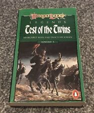 Test of the Twins by Tracy Hickman, Margaret Weis (Paperback, 1987)