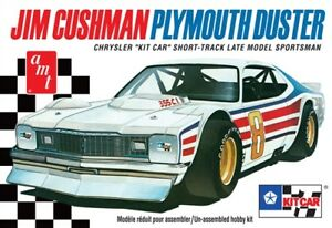 1:25 AMT JIM CUSHMAN Plymouth Duster Short Track Late Model Sportsman Model Kit