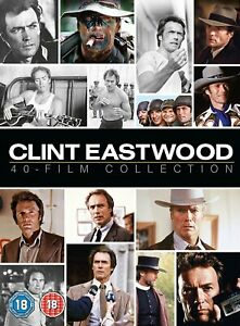 Clint Eastwood: 40 Films DVD Collection Box Set New Sealed