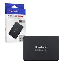 """240GB Verbatim Vi500 S3 SATA III 2.5"""" Internal SSD Solid State Drive 240GB"""