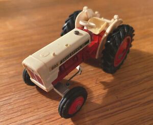 DINKY TOYS MODEL No.305 DAVID BROWN '995' TRACTOR vintage used - bits missing