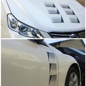 1PC 3D SUV Car Decoration Hood Fender Vent Air Stikcer Universal Decal