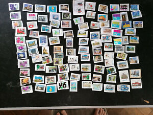 """106 Various """" City-Post """" Privatpost Brands, Canceled Letter Pieces, With News"""