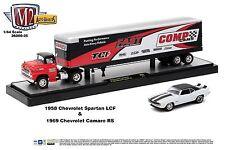 1:64 M2 Machines AUTO-HAULERS R25 = 1958 Chevy Spartan w/69 Camaro COMP *NIB*