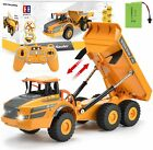 Heavy Duty Dump Truck Hauler Consruction Electric R/C Cargo Trailer Toy Kid Car