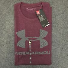 Under Armour * UA Charged Cotton Sportstyle Logo Tshirt Purple XL for Men