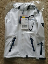 Softshell Outdoor Funktions Jacke - Gr. S - Geographical Norway - weiss - Herren