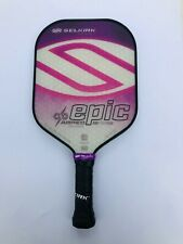 Selkirk Sport Pickleball Paddle Epic AMPED Lightweight Purple Factory 2nd
