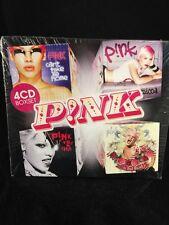 P!NK P!nk 4 CD Box set CD BRAND NEW : STILL SEALED RARE