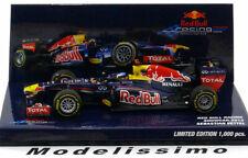 1:43 Red Bull Showcar Vettel 2012 Red Bull Team Edition