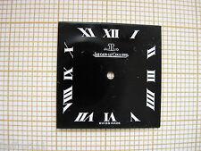 Cadran noir montre ancienne Jaeger LeCoultre vintage.esfera 時計のダイヤル dial 12
