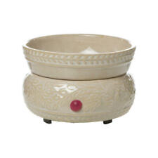 Ceramic Electric Wax Warmer and Candle Dish with Wide Mouth Home Decor Accessory