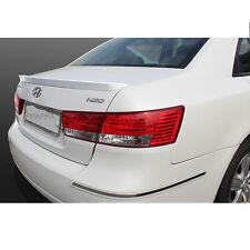 Rear Trunk Wing Lip Spoiler Space for Hyundai Sonata 2006-2010 - Noble White