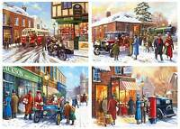 Gibsons Winter About Town Jigsaw Puzzle (4 x 500 Pieces) - Brand New Gibson
