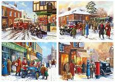 Gibsons Winter About Town Jigsaw Puzzle 4 X 500-piece