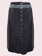 Viscose A-line Casual Plus Size Skirts for Women