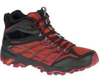 Merrell Moab FST MID Gore-Tex GTX Shoes Men's - Burgundy/Black J35743