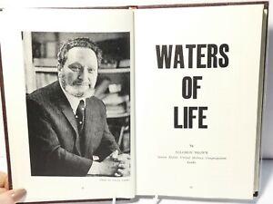 1974 Waters of Life Rabbi Solomon Brown Religious Judaism Book