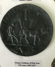 Vienna academy of fine arts medal 225 years 1692-1917 Collectors Piece 8cms