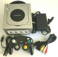 Nintendo Gamecube Complete System Platinum Silver - DOL-101 Tested Works Great