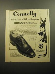 1950 Connolly Bal Oxford 8679 Shoes Advertisement