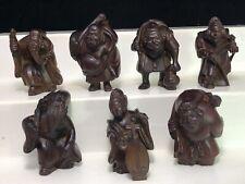 Japanese Netsuke 7 gods design