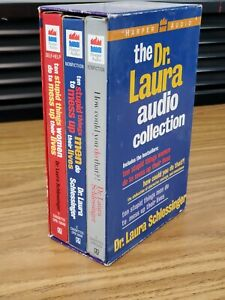 The Dr. Laura Audio Collection 5 Cassettes Self Help Harper 7375