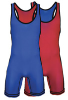 NEW Cliff Keen REVERSIBLE Singlet Red Blue Freestyle Wrestling RS86J BEST VALUE