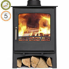 Defra Approved Purefire 7-8kw Curve  Woodburning Stove Wood Burners