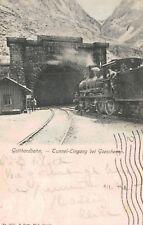 Goschenen,Switzerland,Got thardbahn,Tunnel Eingang,Canton Uri,Used,1906