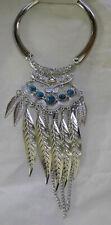 Halskette Collier Necklace Feather Indianer Western  Federn 243