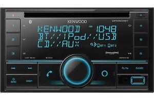 Kenwood DPX504BT 2-Din CD Receiver with Bluetooth, Amazon Alexa, SiriusXM